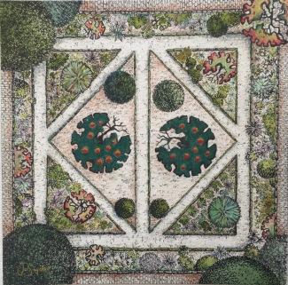 Apple Trees II. Palace Kitchen Gardem
